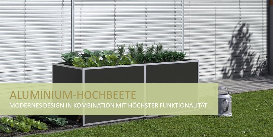 Aluminium-Hochbeete