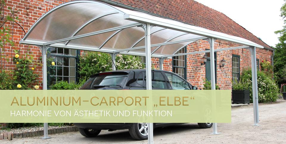 Carport Elbe