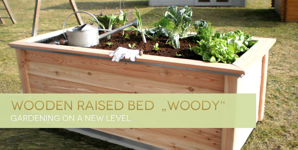 "Wooden Raised Bed ""Woody"""