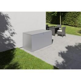 Bild zeigt Gartenbox L - silber (RAL 9006)