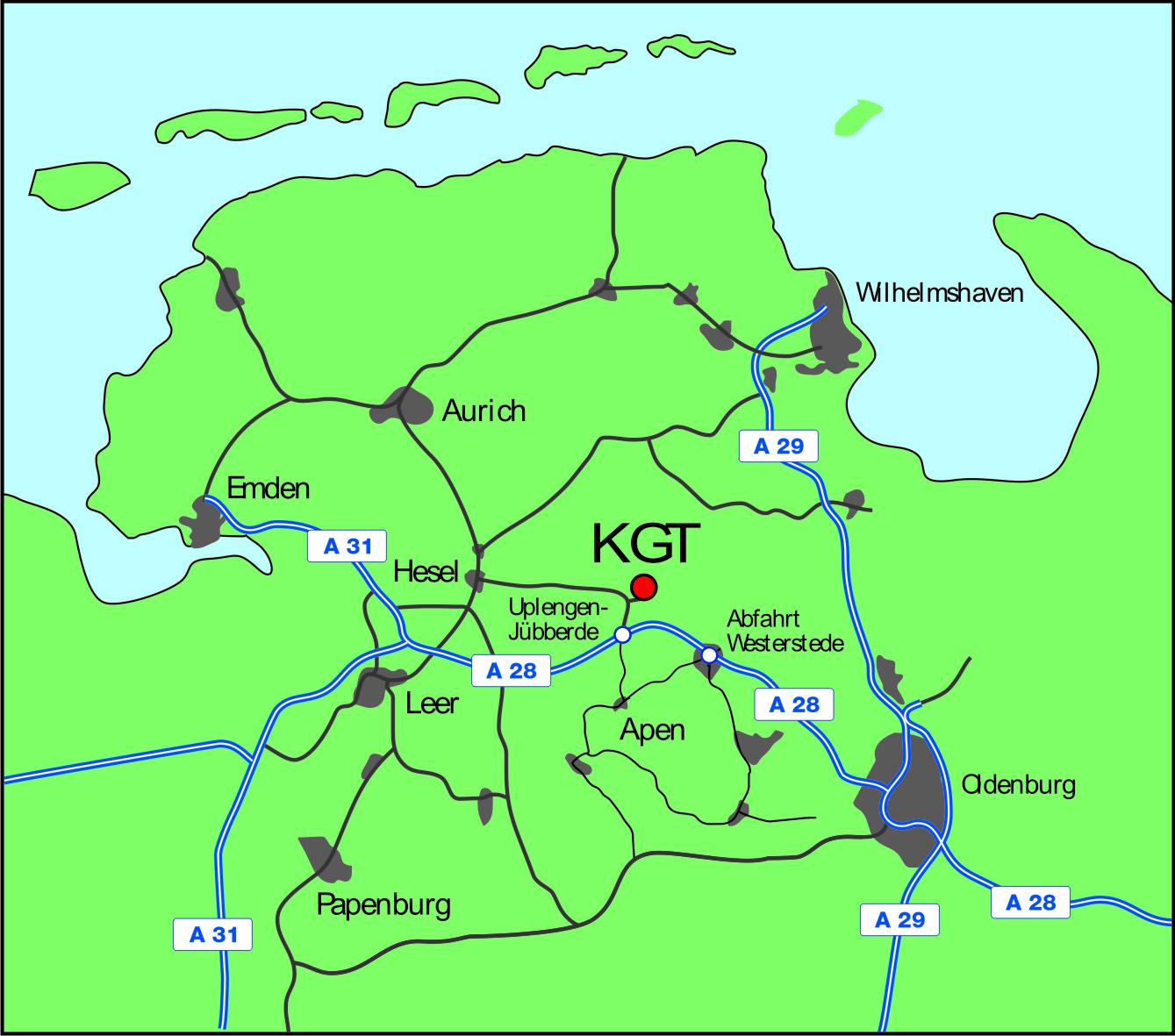 KGT Karte